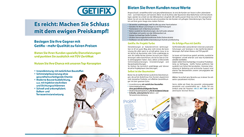 Getifix Partnerwerbung